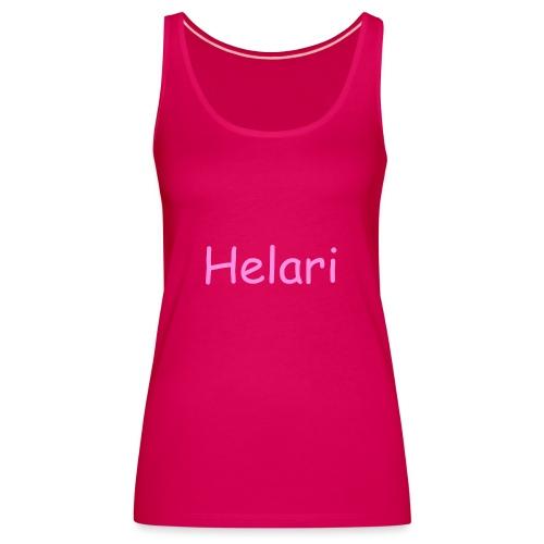 Helari Merch - Naisten premium hihaton toppi