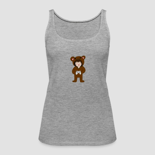 Bear Chibi - Frauen Premium Tank Top
