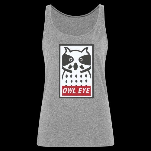 Owl Eye - Frauen Premium Tank Top