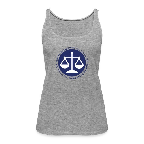 Equal Work for Equal Pay - Women's Premium Tank Top