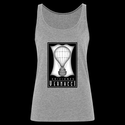 logotipo de ediciones Vernacci - Camiseta de tirantes premium mujer