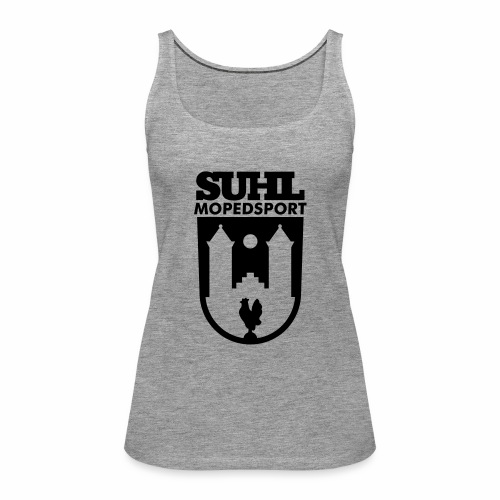 Suhl Mopedsport Hahn Logo - Women's Premium Tank Top
