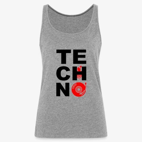 TECHNO VINILO - Camiseta de tirantes premium mujer