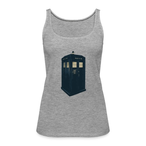 Tardis Doctor Who - Women's Premium Tank Top