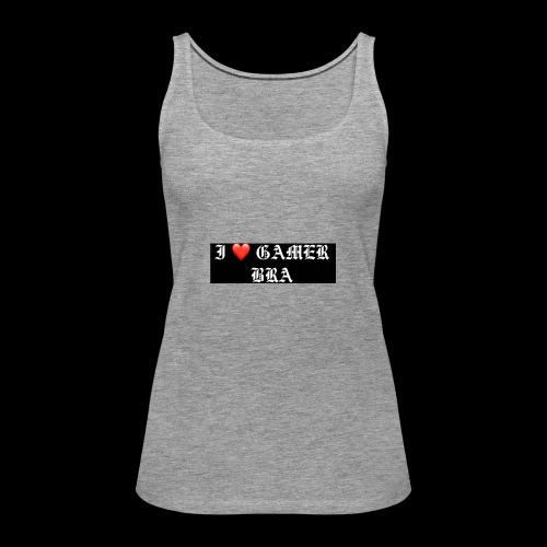 GAMER BRA YT - Frauen Premium Tank Top