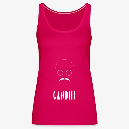 gandhi - Women's Premium Tank Top