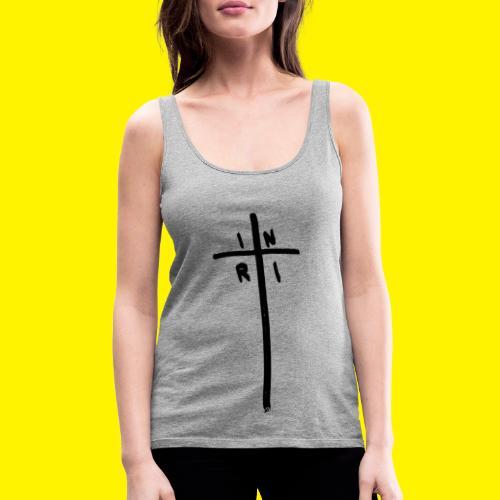 Cross - INRI (Jesus of Nazareth King of Jews) - Women's Premium Tank Top