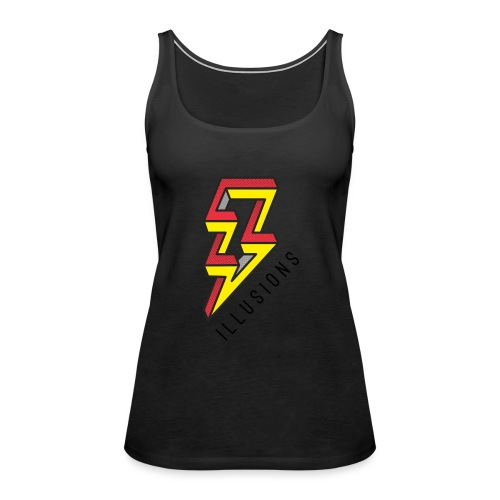 ♂ Lightning - Frauen Premium Tank Top