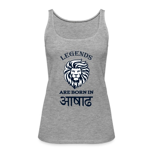 Asar, the third month of Nepali calender. - Women's Premium Tank Top