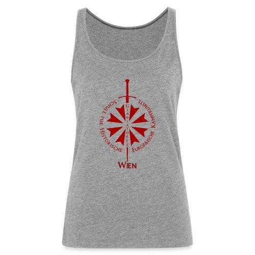 T shirt front wien - Frauen Premium Tank Top