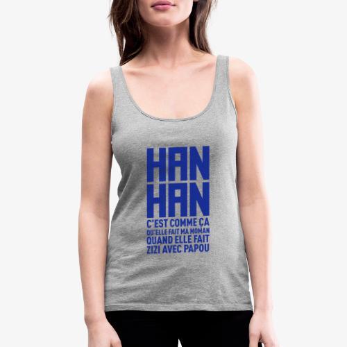 hanhan KK BITE - Débardeur Premium Femme