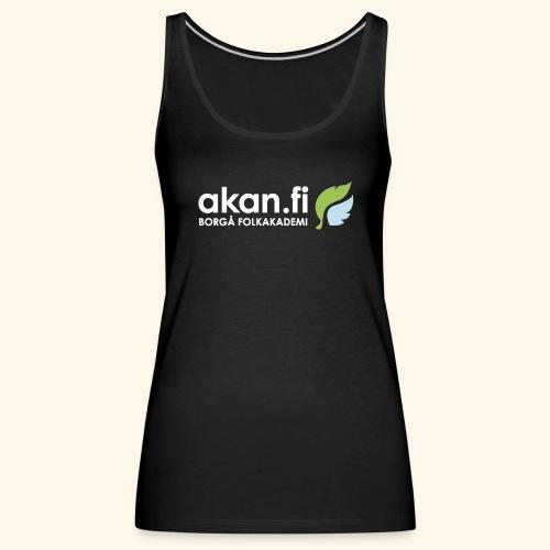 Akan White - Women's Premium Tank Top
