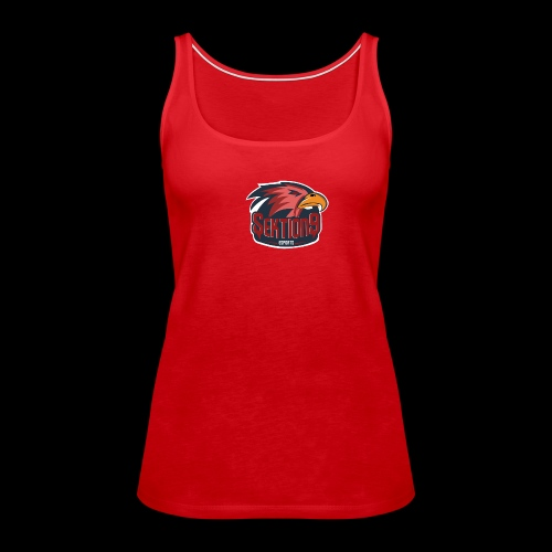 Sektion9 logo Rot - Frauen Premium Tank Top