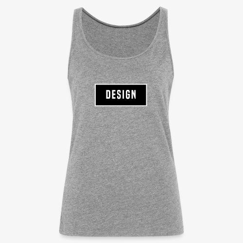 design logo - Vrouwen Premium tank top