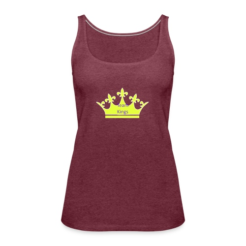 Team King Crown - Women's Premium Tank Top