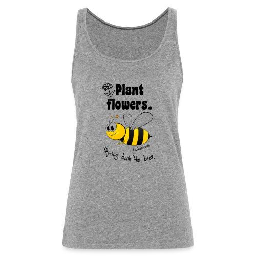 Bees8-1 Bringt die Bienen zurück! | Bookrebels - Women's Premium Tank Top
