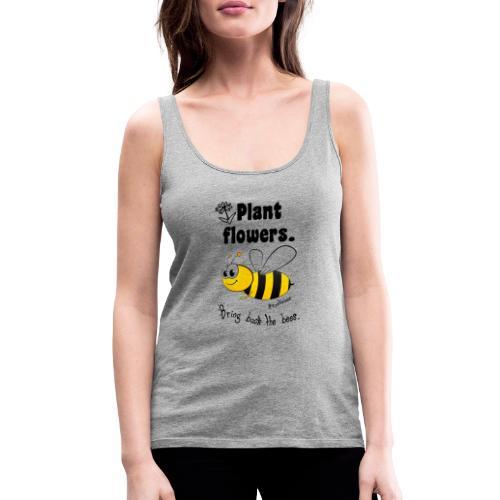 Bees8-2 Bringt die Bienen zurück!   Bookrebels - Women's Premium Tank Top
