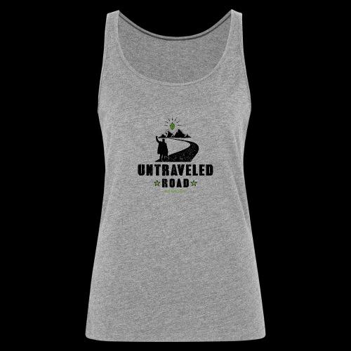 Untraveled Road Logo - black/small - Frauen Premium Tank Top