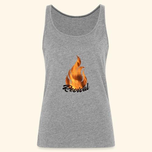 Revival fire - Premium singlet for kvinner