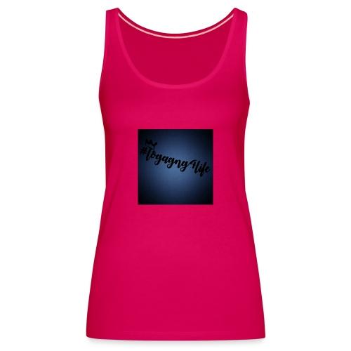 #logagng4life - Women's Premium Tank Top