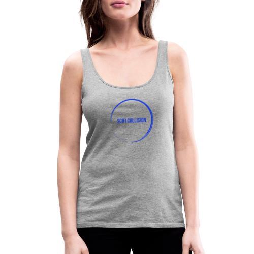 Dark Blue Logo - Women's Premium Tank Top