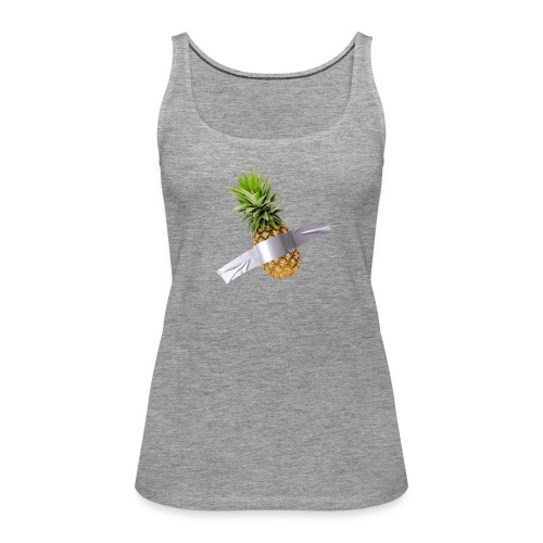 Pineapple Art - Canotta premium da donna