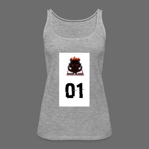 Boar blood 01 - Tank top damski Premium