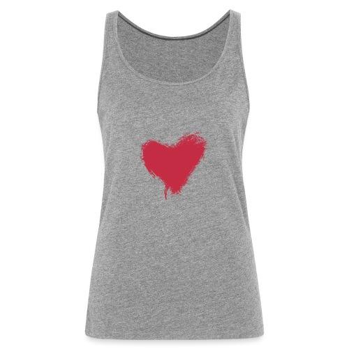 CORAZON - Camiseta de tirantes premium mujer