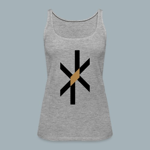 Orbit Premium T-shirt - Vrouwen Premium tank top