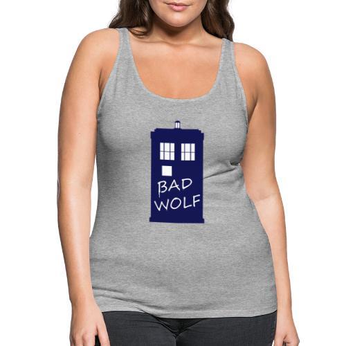 Bad Wolf Tardis - Débardeur Premium Femme