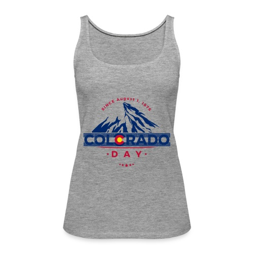 Colorado Day 2018 state flag mountain T shirt - Débardeur Premium Femme