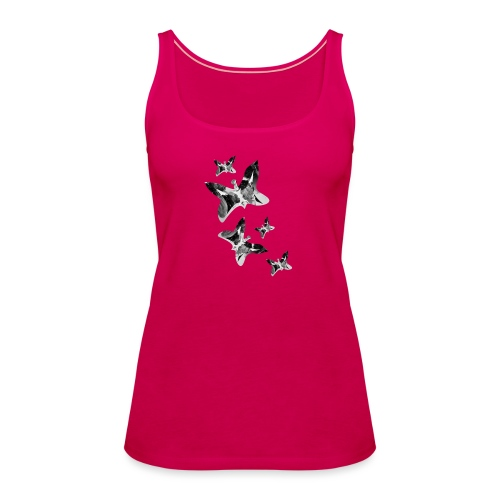 Schmetterlinge - Frauen Premium Tank Top