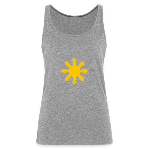 philippine sun hi - Canotta premium da donna