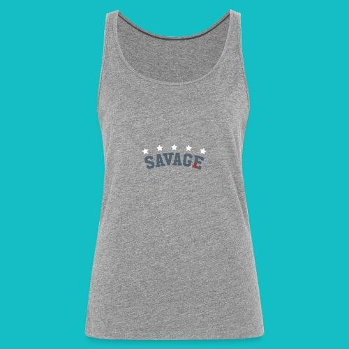 Savage Nation - Women's Premium Tank Top