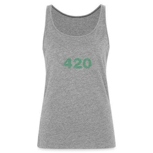 420 Cannabis Marihuana - Frauen Premium Tank Top