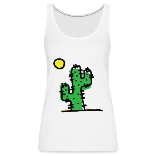 Cactus single - Canotta premium da donna