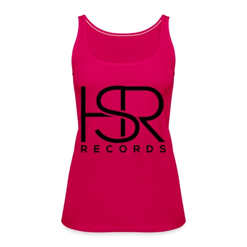 HSR RECORDS - Canotta premium da donna