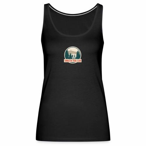 Tawastia Trail Logo - Naisten premium hihaton toppi