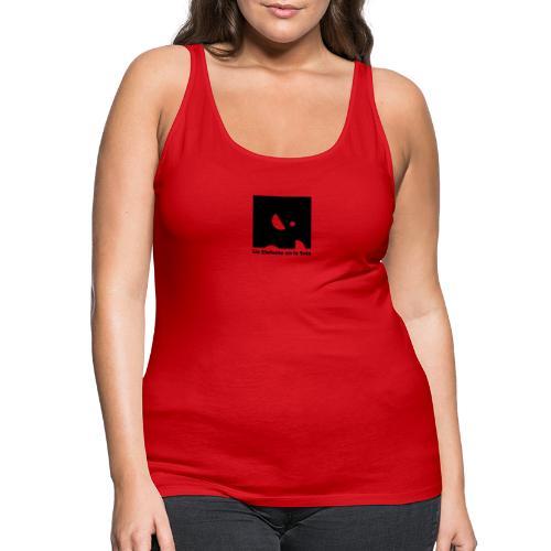 Logo Elefante Negro - Camiseta de tirantes premium mujer