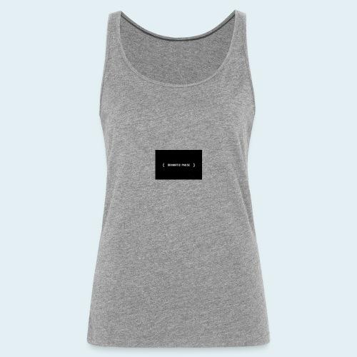 drama queen sweet summer dress - Vrouwen Premium tank top