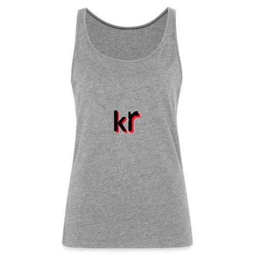 kevinrubinkie logo voor webshop - Vrouwen Premium tank top
