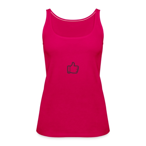 Like button - Vrouwen Premium tank top