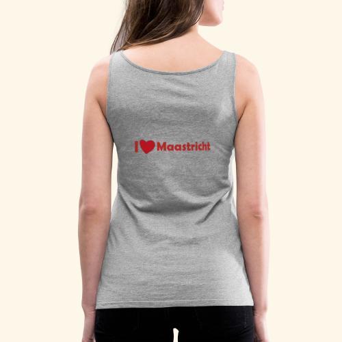lovemaaastricht - Vrouwen Premium tank top