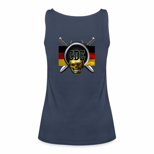 Crewlogogerman - Frauen Premium Tank Top