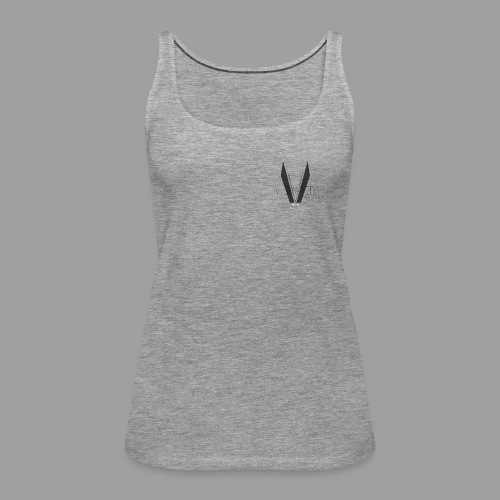 V shaped apparel with logo png - Women's Premium Tank Top
