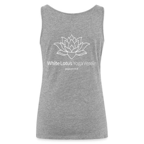Jacket White Lotus Yoga Verein - Frauen Premium Tank Top