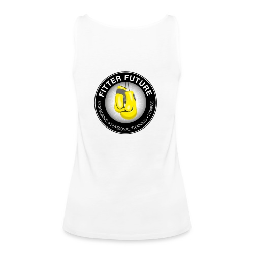 Fitter Future logo - Vrouwen Premium tank top