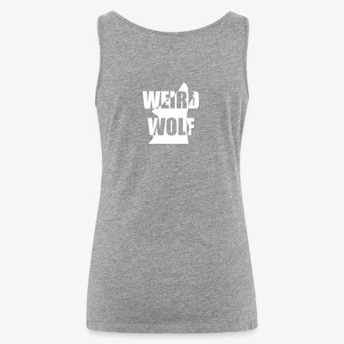 WeirdWolf Logo - Women's Premium Tank Top
