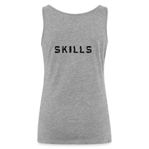 skills cloth - Canotta premium da donna