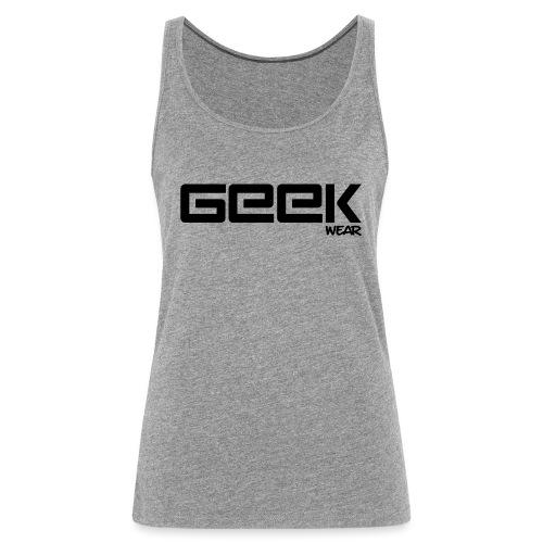 GeekWear_Logo - Vrouwen Premium tank top